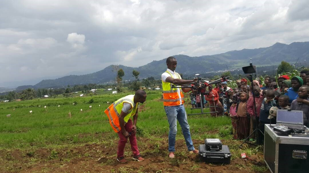 Drones for precision agriculture in Rwanda